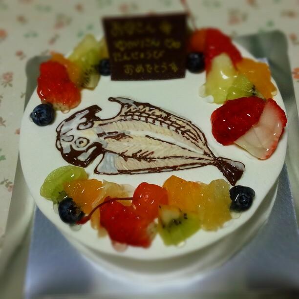 干物ケーキ